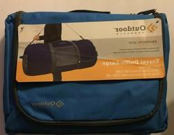 Outdoor Products Utility Duffle Bag Large +  Light Blue Trav