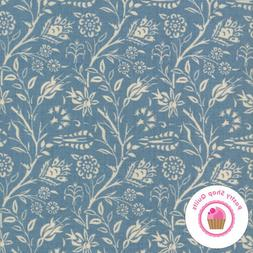 Moda VIVE LA FRANCE 13831 18 Light Blue Floral FRENCH GENERA