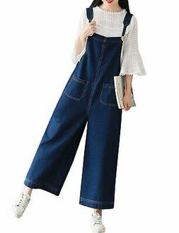 women s loose baggy wide leg cropped