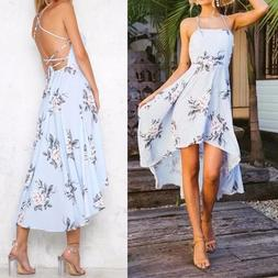 Women's Sexy Strapless Backless Printed <font><b>Dress</b></