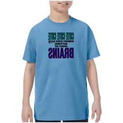 Youth Kids T-shirt Cute Nobody Ever Says Anything About My B